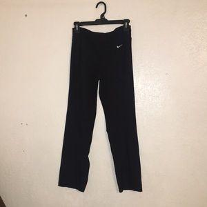 Black Nike dri-fit yoga pants